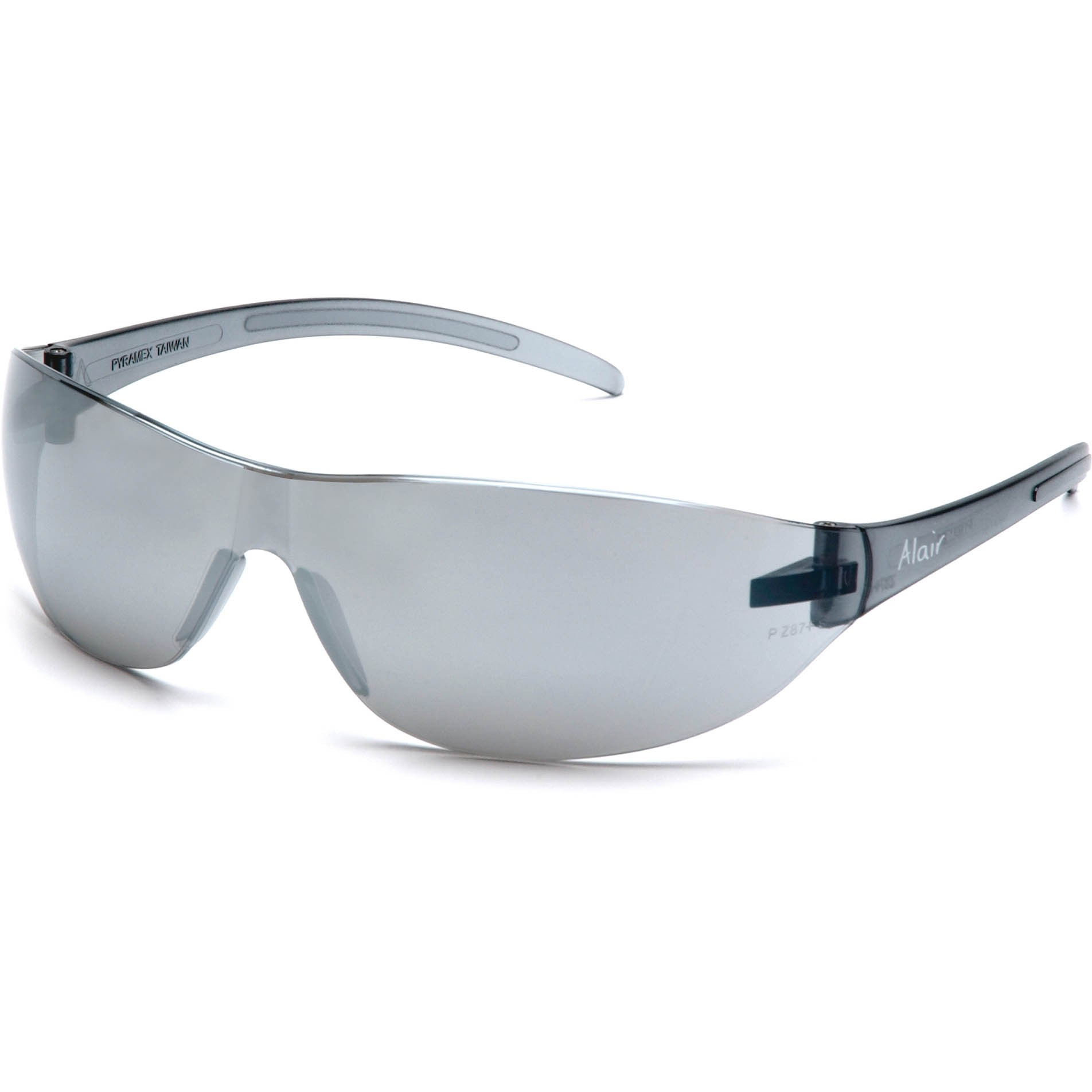 Glasses Gray Frame : Pyramex Alair Safety Glasses - Gray Frame - Silver Mirror ...