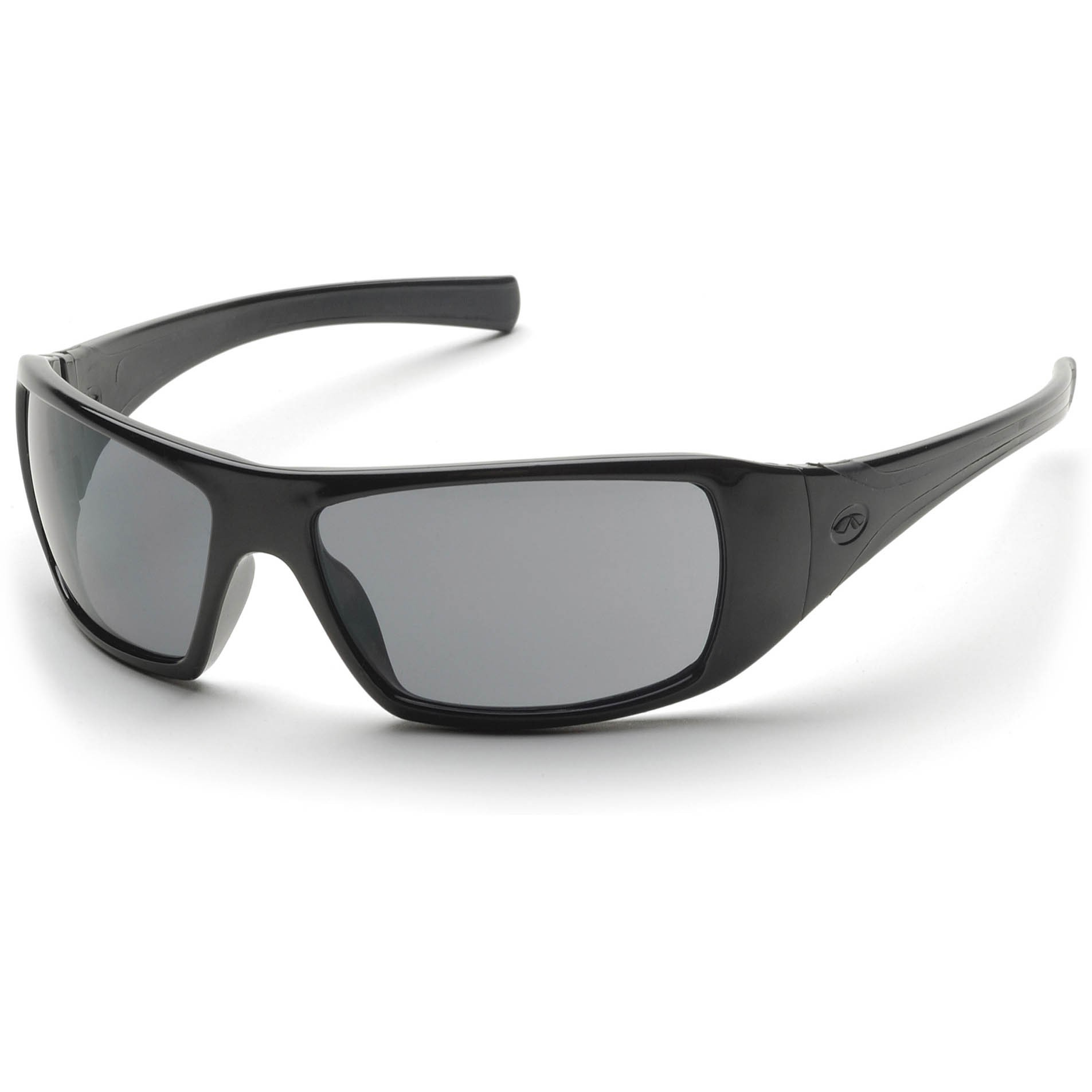 Glasses Gray Frame : Pyramex Goliath Safety Glasses - Black Frame - Gray ...