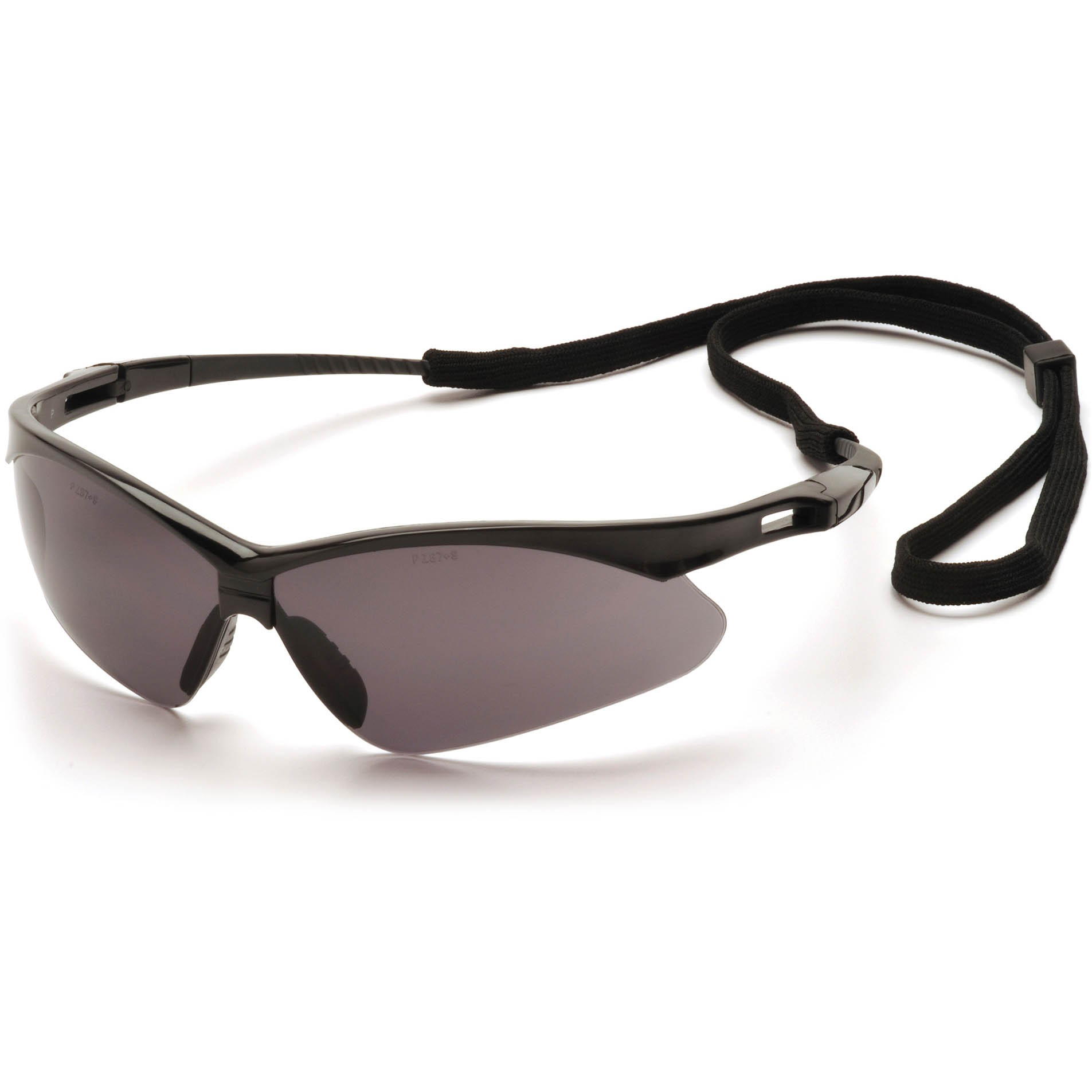 Safety Glasses Black Frame : Pyramex PMXTREME Safety Glasses - Black Frame - Gray Lens ...