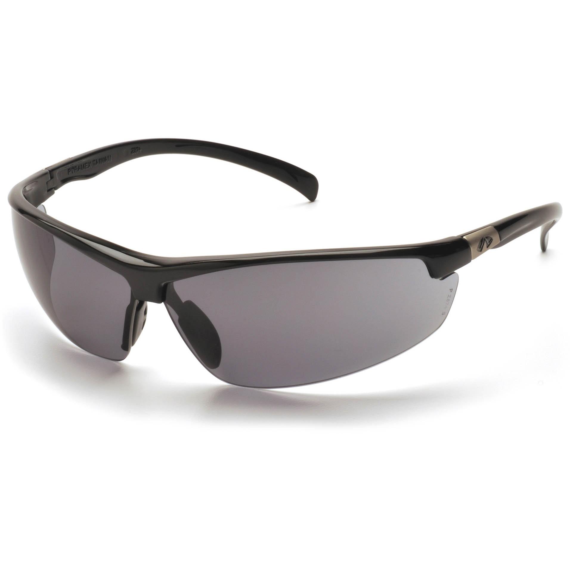Safety Glasses Black Frame : Pyramex Forum Safety Glasses - Black Frame - Gray Lens ...