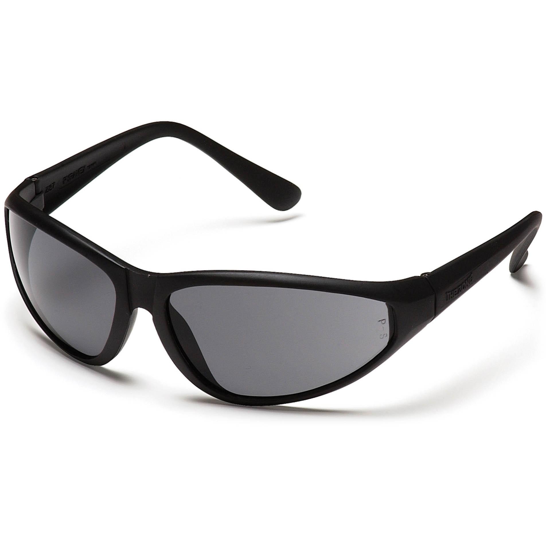 Glasses Gray Frame : Pyramex Zone Safety Glasses - Black Frame - Gray Lens ...
