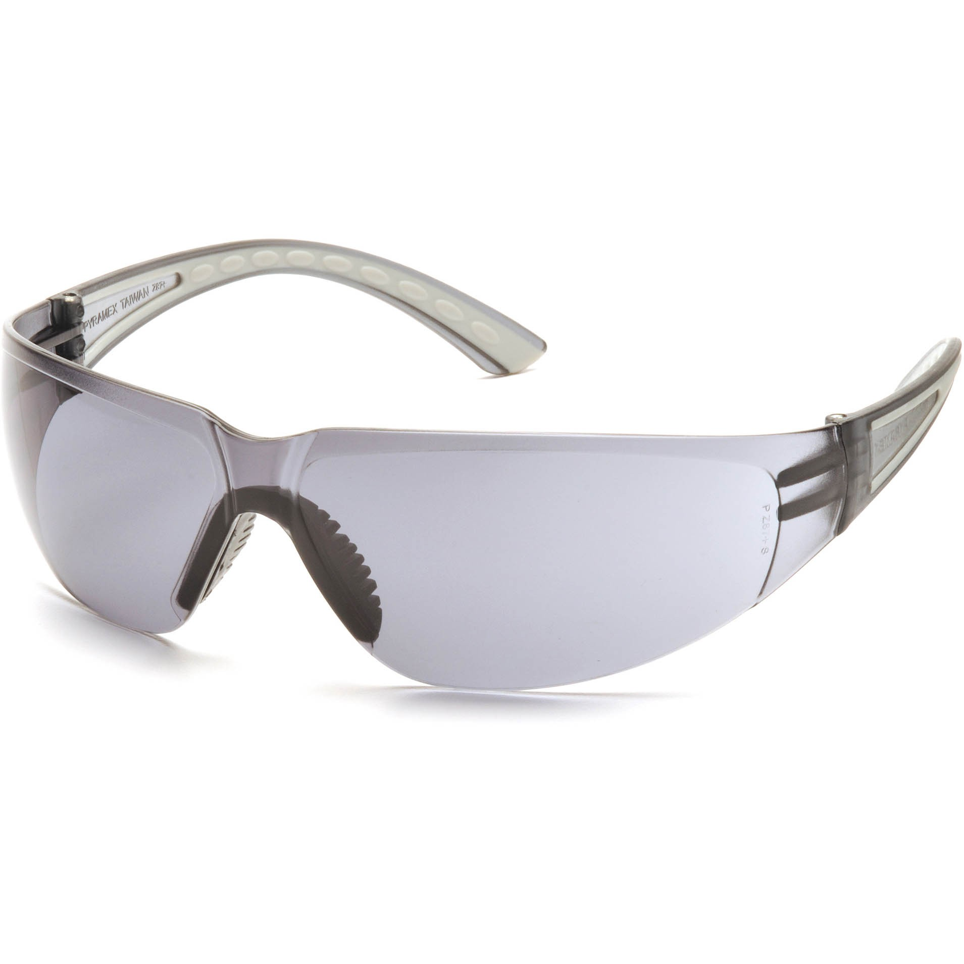 Pyramex Cortez Safety Glasses - Gray Temples - Gray Frame ...