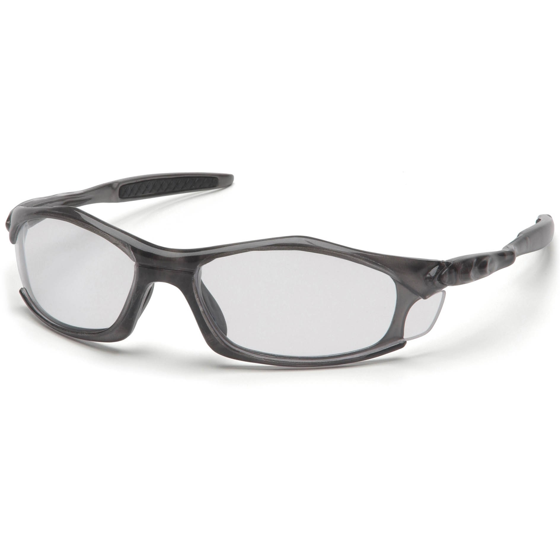 Glasses Gray Frame : Pyramex Solara Safety Glasses - Gray Frame - Clear Lens ...