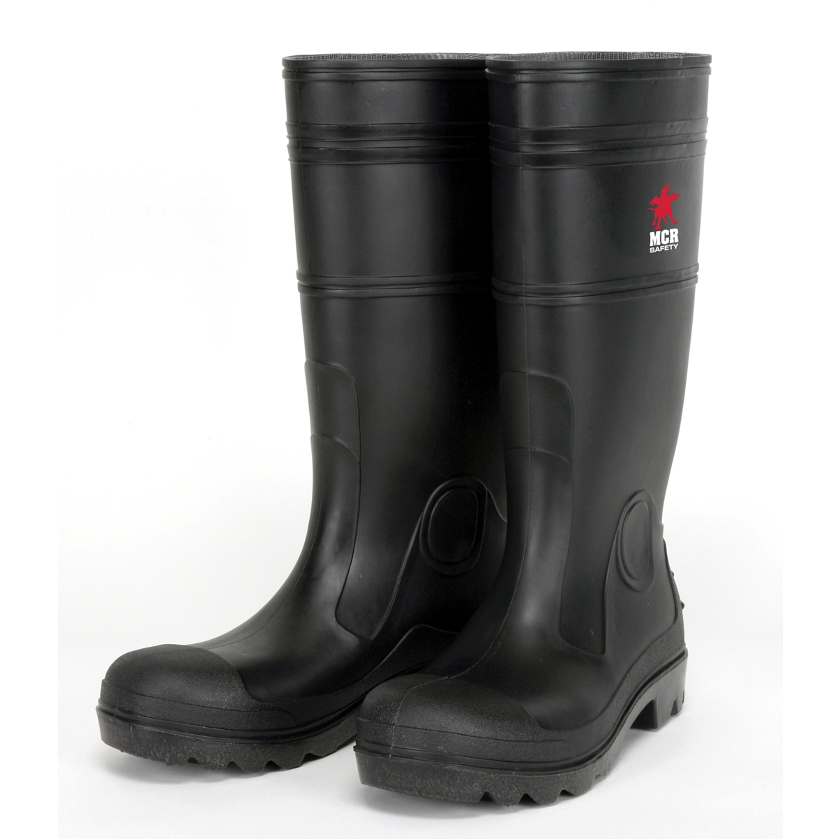 River City PBS120 Steel Toe PVC Rain Boots - Black | FullSource.com