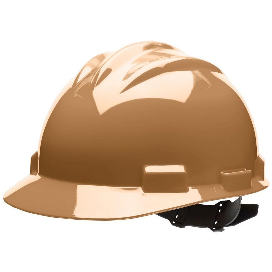 bullard s61tnp standard hard hat pinlock suspension tan. Black Bedroom Furniture Sets. Home Design Ideas