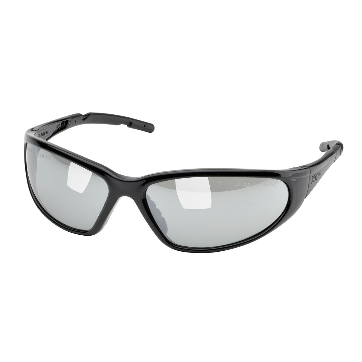 Black Frame Glasses Singapore : Elvex SG-24M-BLK XTS Safety Glasses - Glossy Black Frame ...