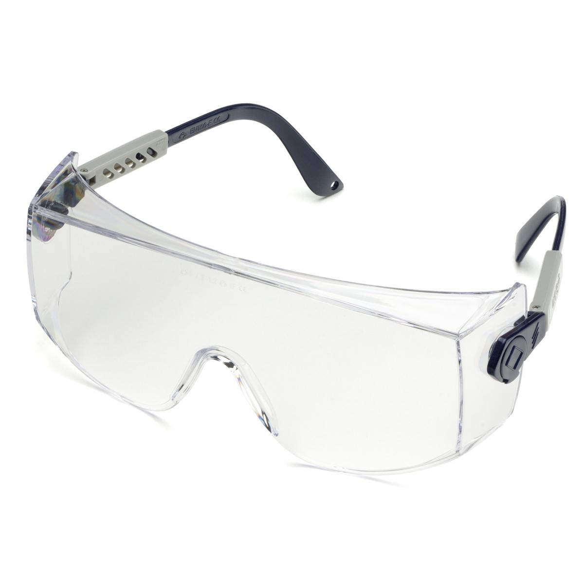 Large Frame Prescription Safety Glasses : Elvex SG-27C OVR-Spec I Safety Glasses - Large OTG Frame ...