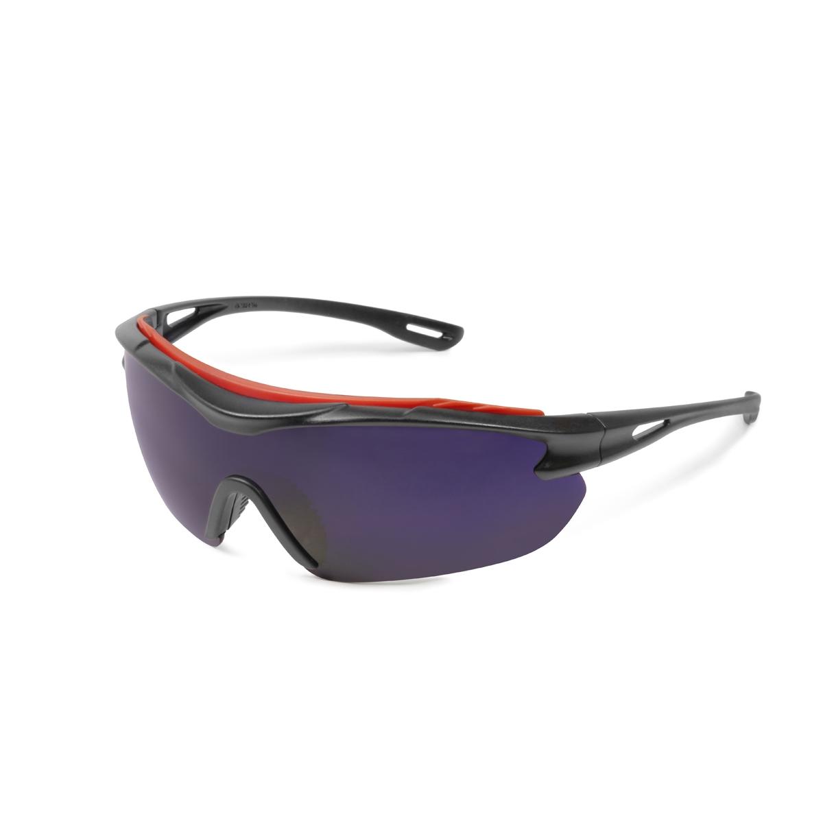 Black Frame Glasses Singapore : Elvex SG-31C-AF Brow-Specs Safety Glasses - Black Frame ...