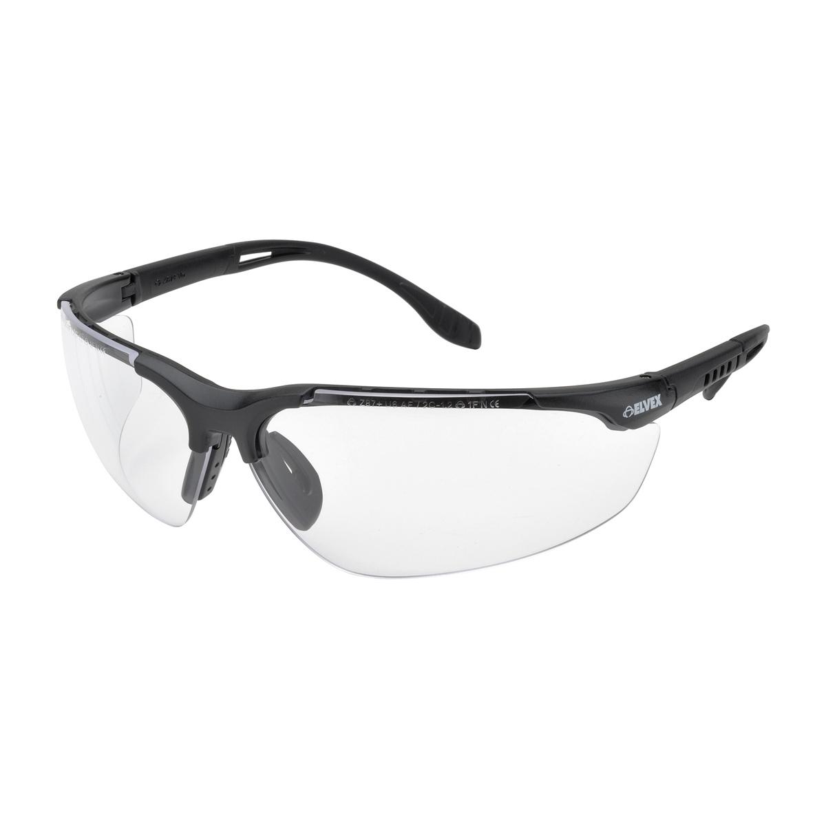 Black Frame Glasses Singapore : Elvex SG-51C Sphere-X Ultimate Safety Glasses - Black ...