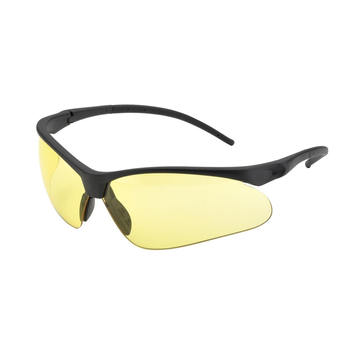 Black Frame Glasses Singapore : Elvex SG-55A Flex-Pro Safety Glasses - Black Frame - Amber ...