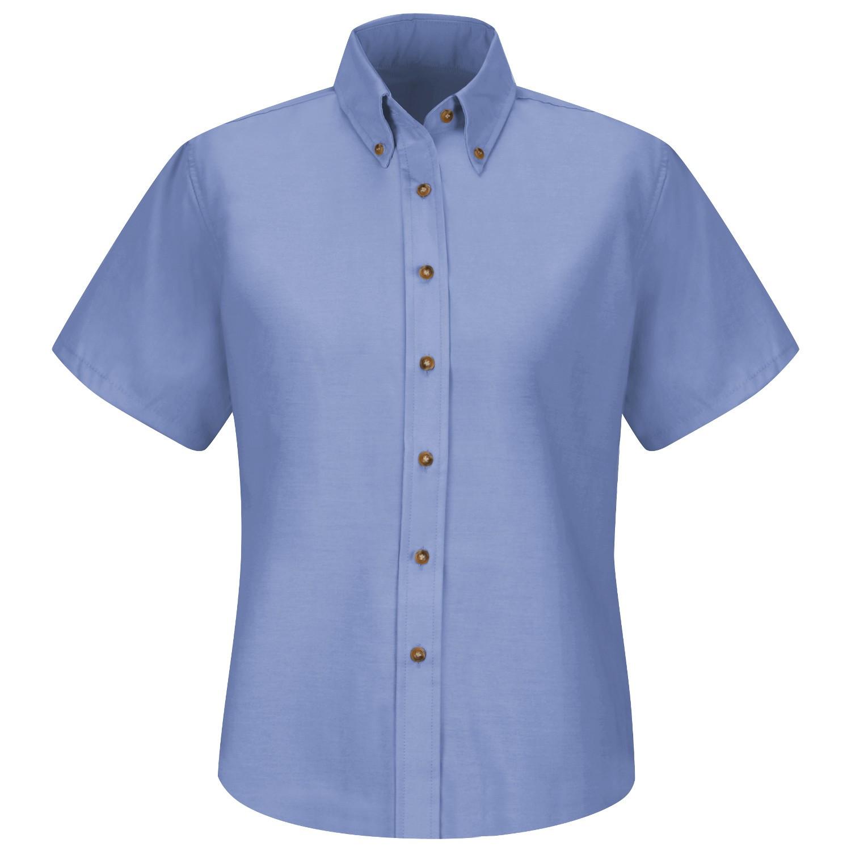 Red Kap Sp81 Women 39 S Poplin Dress Shirt Short Sleeve