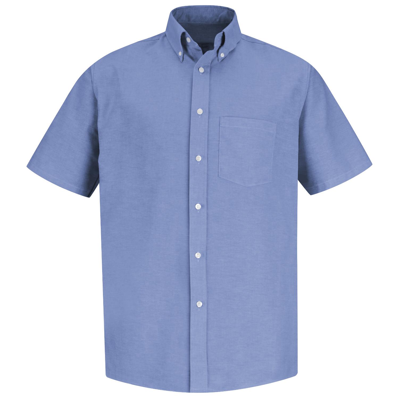 Red Kap Men 39 S Executive Oxford Dress Shirt Short Sleeve