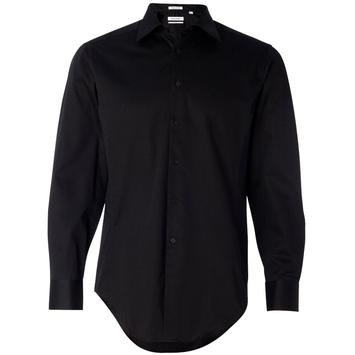 Calvin klein 13ck023 slim fit cotton stretch shirt black for Calvin klein slim fit stretch shirt