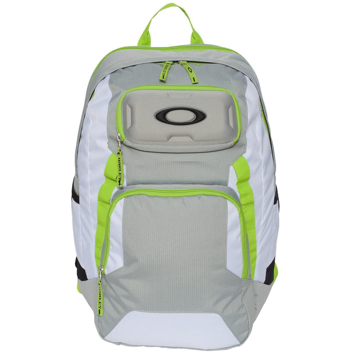 oakley white backpack