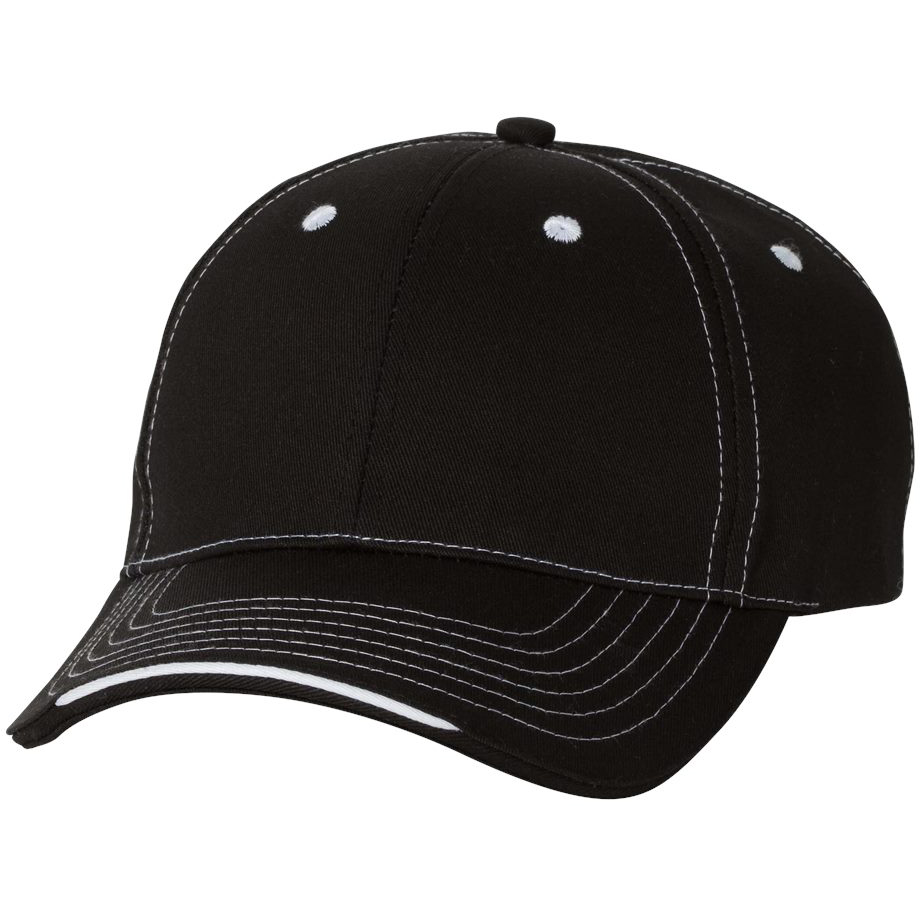 Sportsman 9500 Tri-Color Cap - Black | FullSource.com