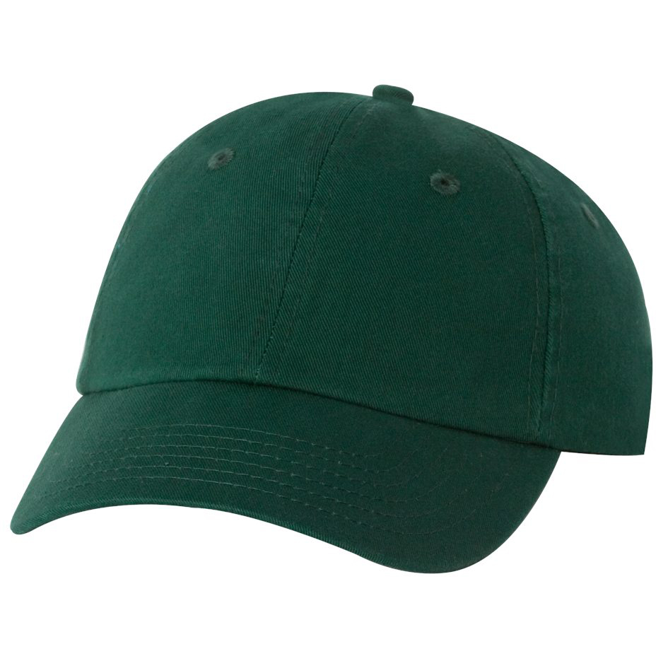 Valucap Vc300a Adult Bio Washed Unstructured Cap Forest