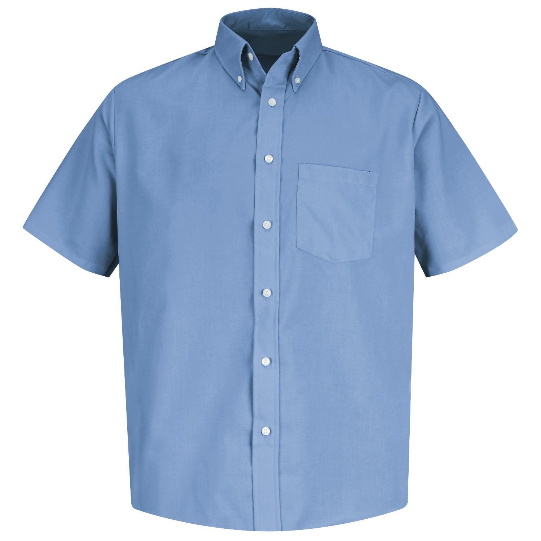 Red Kap Ss46 Men 39 S Easy Care Dress Shirt Short Sleeve