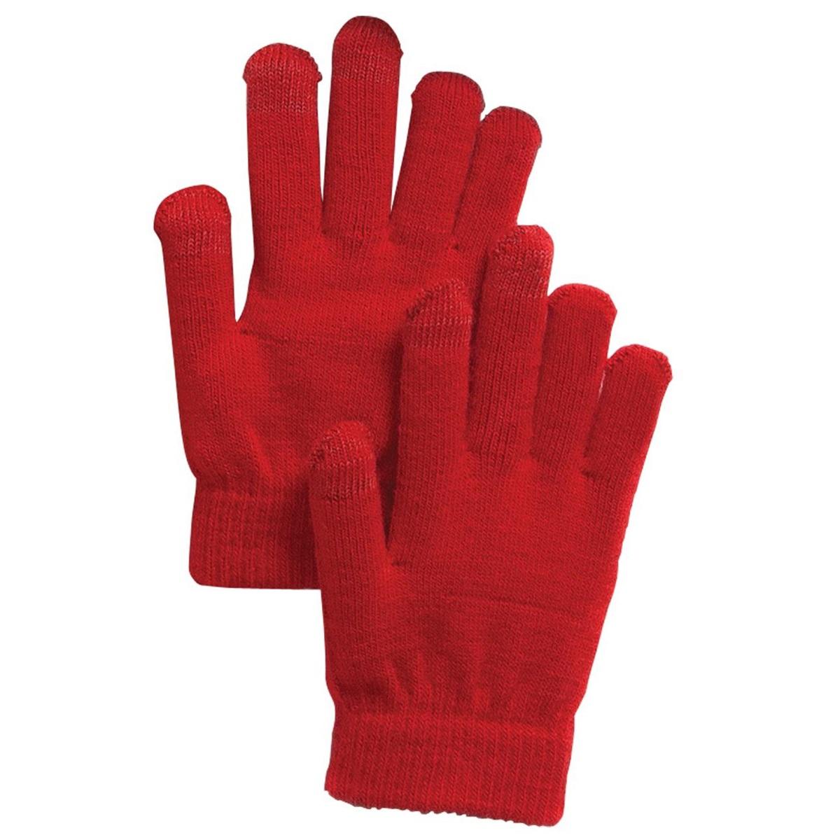 Sport Tek Gloves: Sport-Tek STA01 Spectator Gloves - True Red