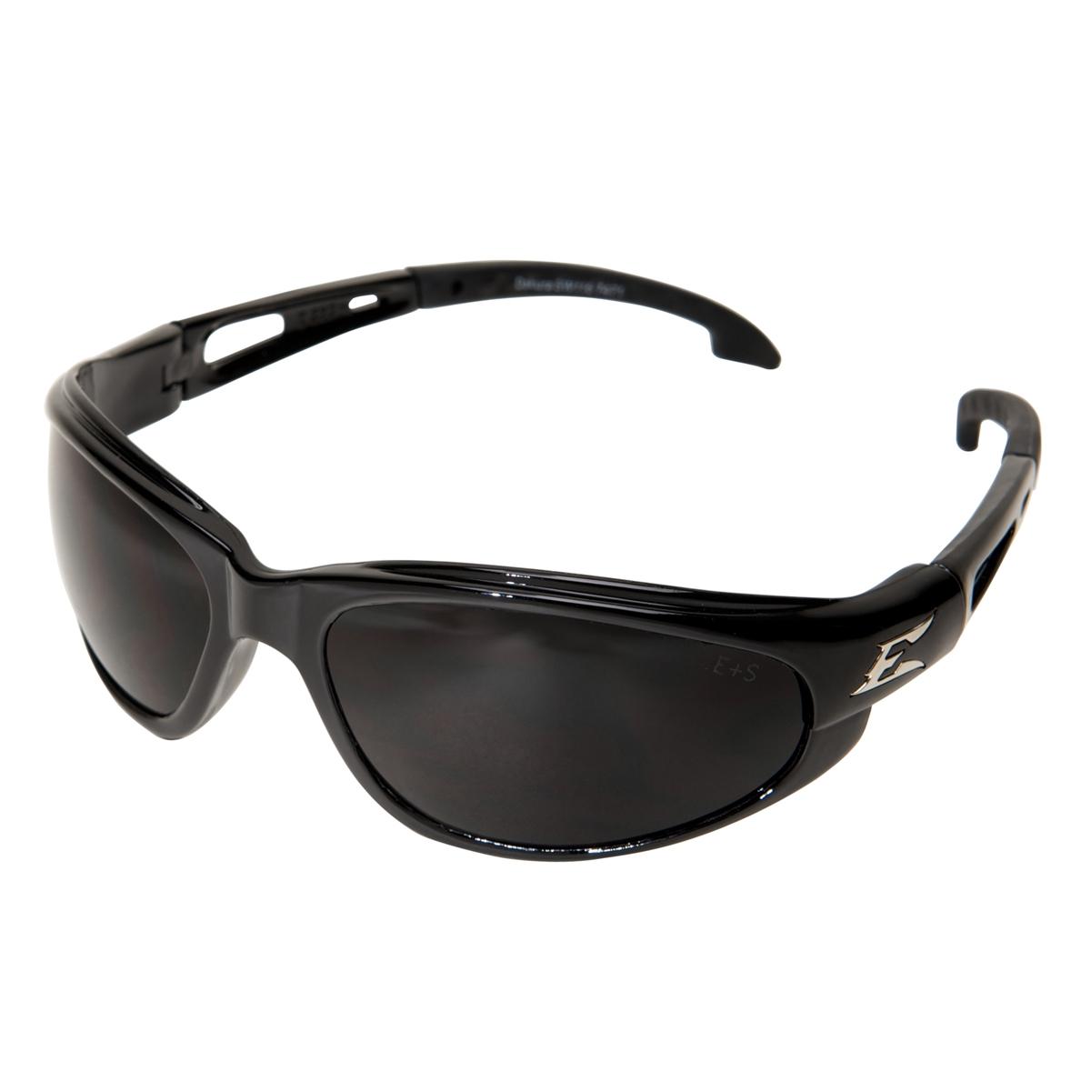 Edge SW116AF Dakura Safety Glasses - Black Frame - Smoke ...