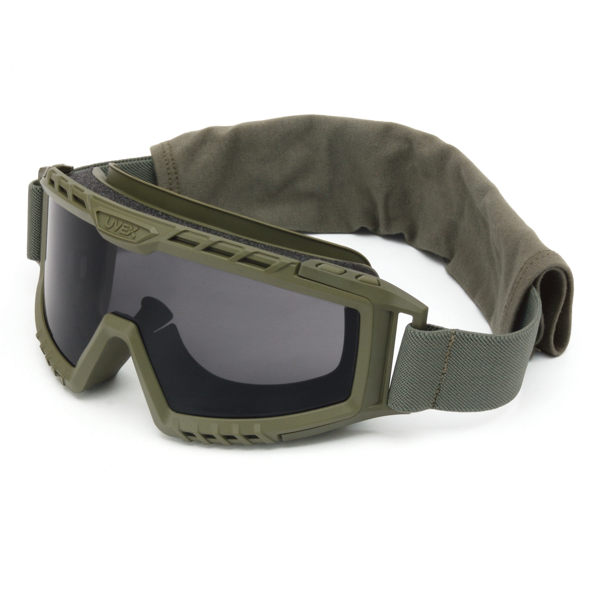 Uvex Xmf Tactical Goggles Foliage Green Frame Gray