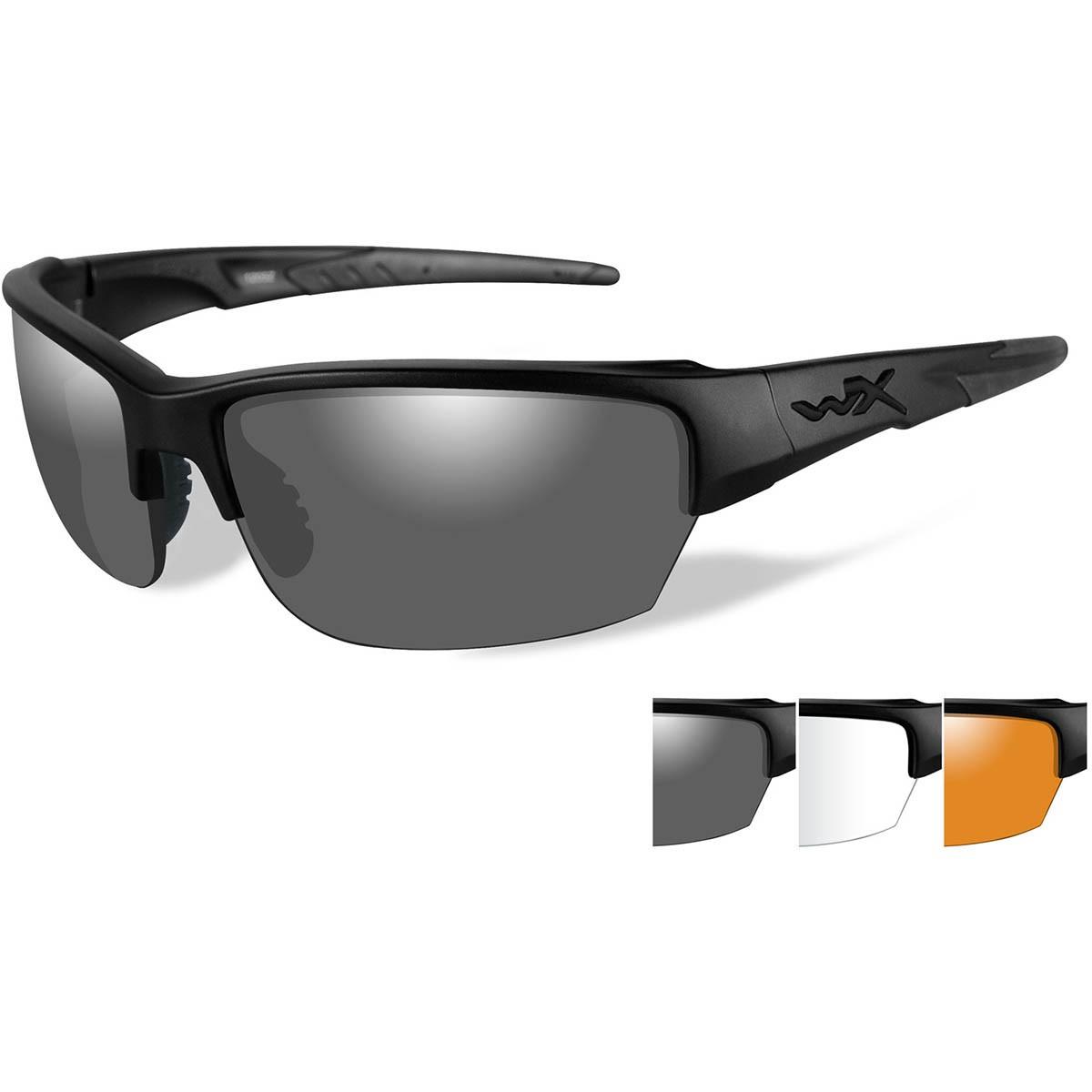 WileyxCHSAI06 WX Saint Safety Glasses - Matte Black ...