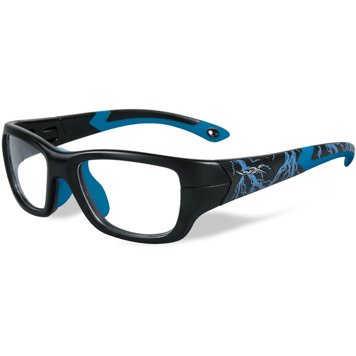 WileyxYFFLA04 WX Flash Safety Glasses - Matte Black with ...