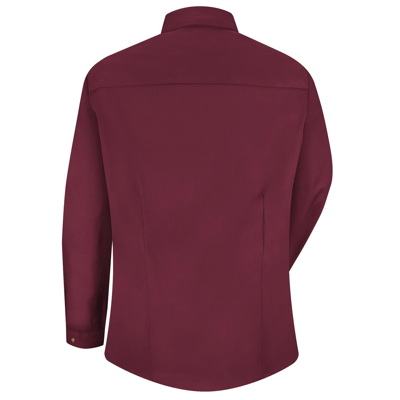 Red kap 1t11 womens meridian performance twill long sleeve for Burgundy long sleeve t shirt womens