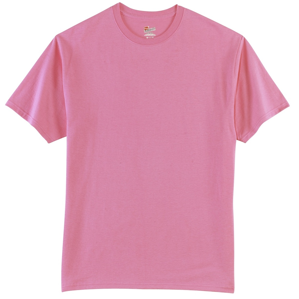 Hanes 5250 Tagless Cotton T Shirt Pink