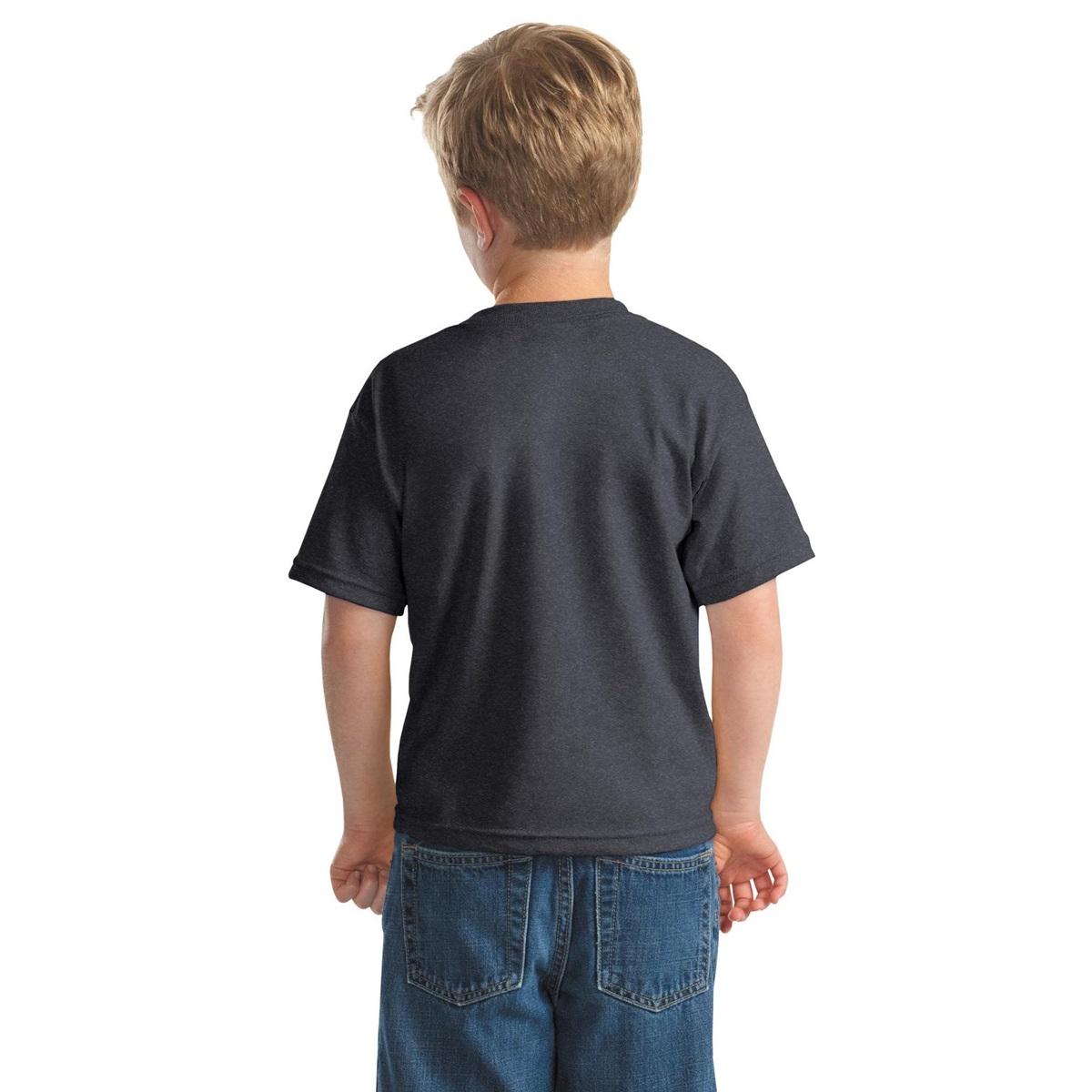 Gildan 8000b Youth Dryblend T Shirt Dark Heather