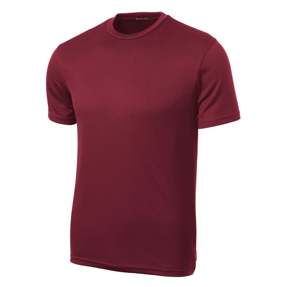 Sport tek k468 dri mesh short sleeve t shirt maroon for Maroon dri fit polo shirt
