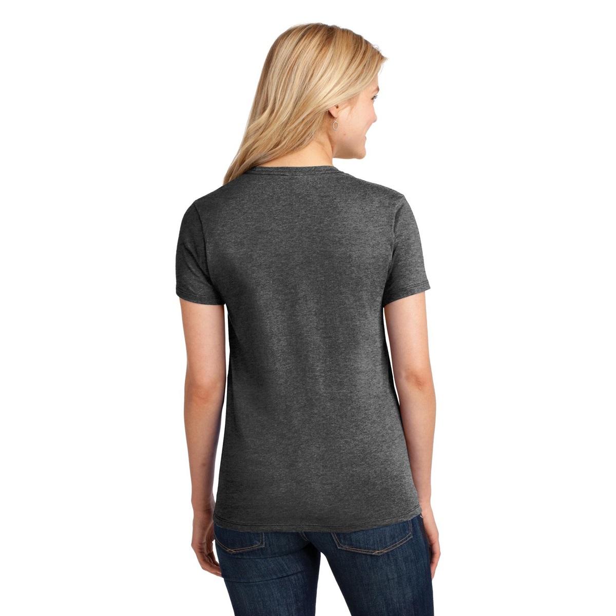 Port Company Lpc54 Ladies 5 4 Oz Cotton T Shirt Dark