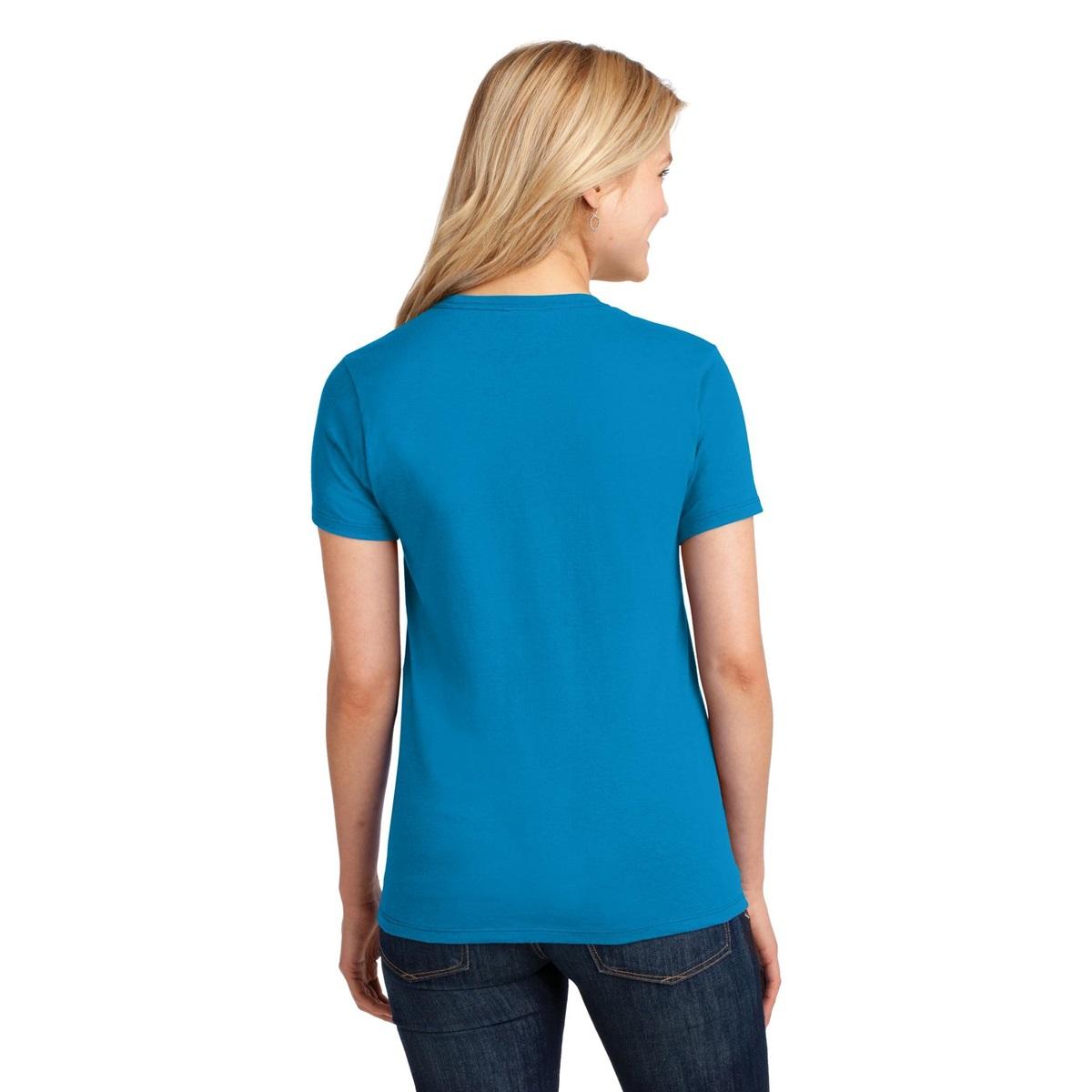 Port Company Lpc54 Ladies 5 4 Oz 100 Cotton T Shirt
