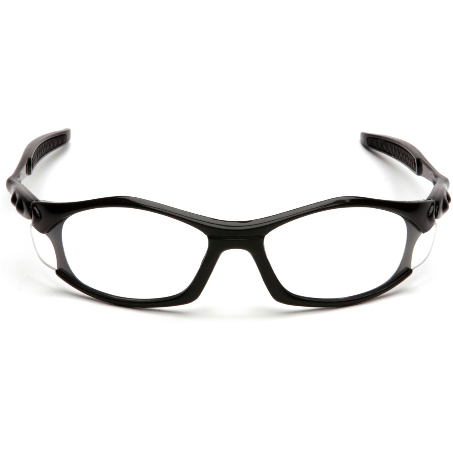 Black Frame Glasses With Clear Lenses : Pyramex Solara Safety Glasses - Black Frame - Clear Lens ...