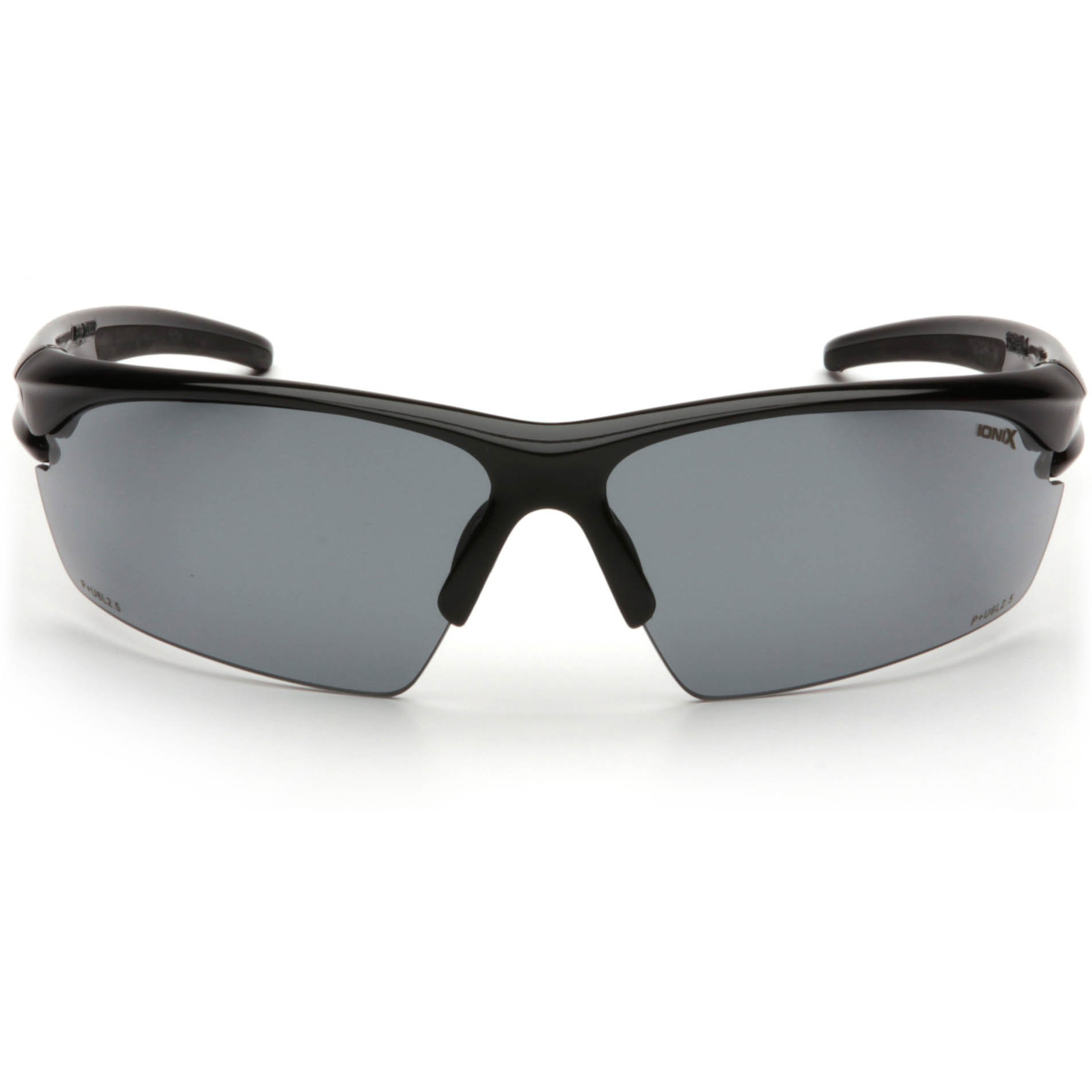 pyramex ionix safety glasses black frame gray lens