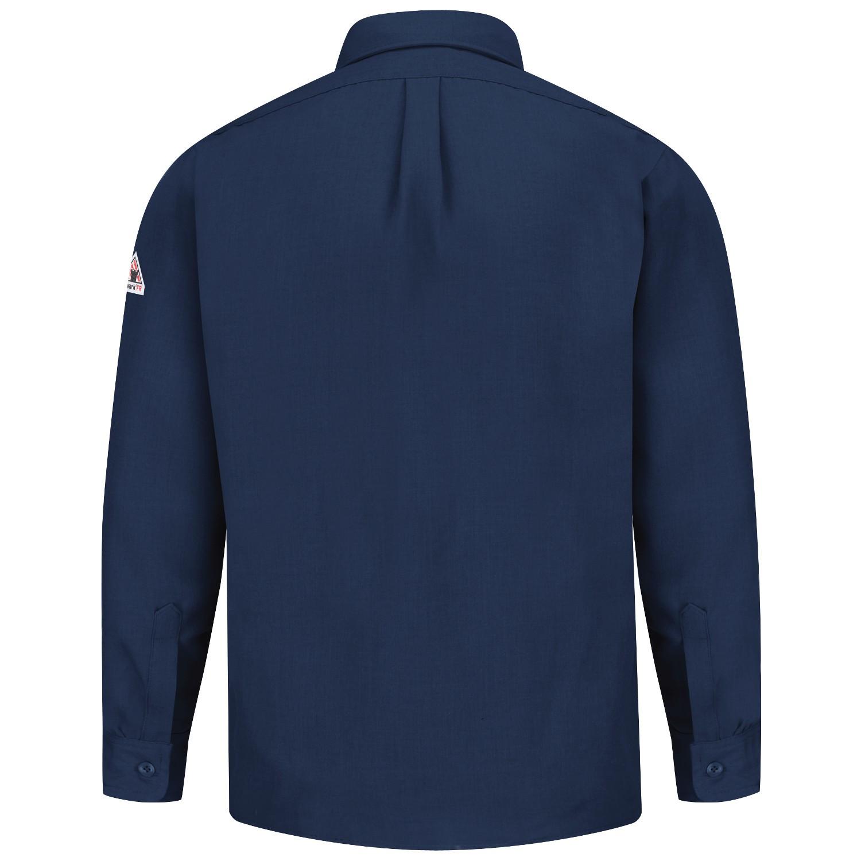 Bulwark fr snd2 men s uniform shirt nomex iiia 4 5 oz navy