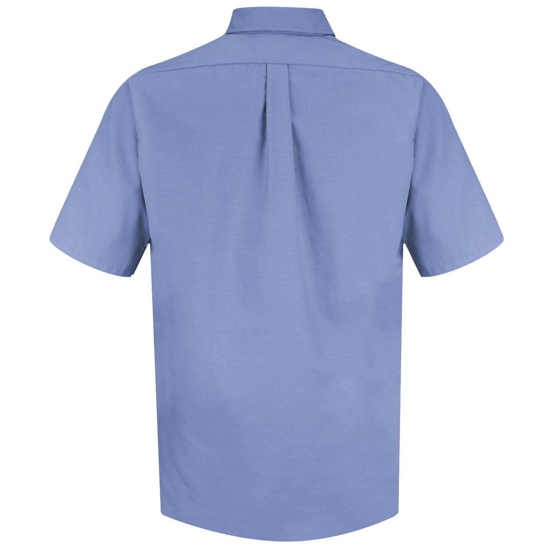 Red Kap Sp80 Men 39 S Poplin Dress Shirt Short Sleeve