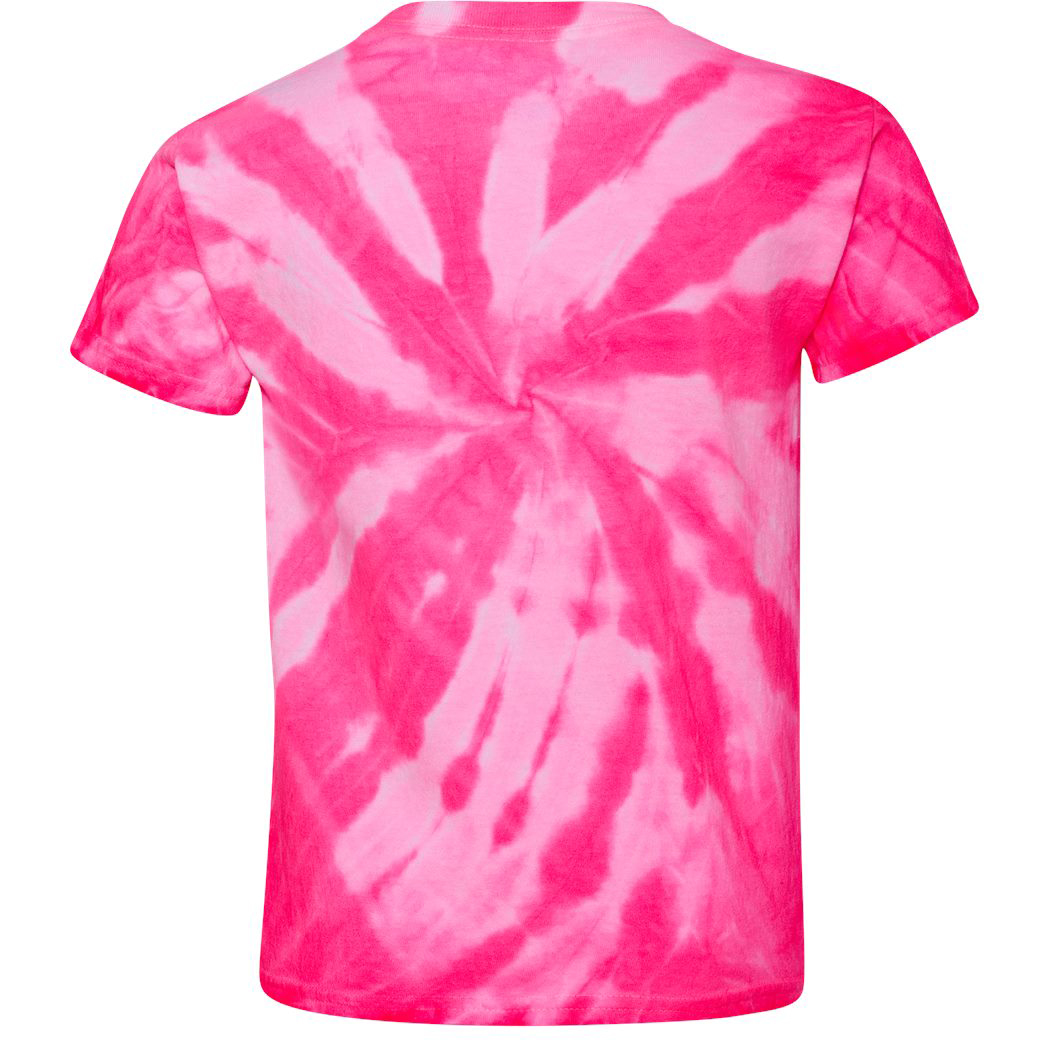 how to make a neon tie dye shirt