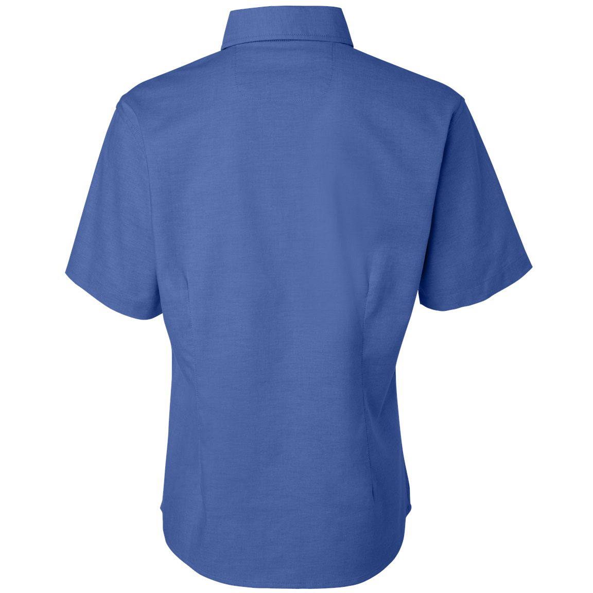 Featherlite 5231 women 39 s short sleeve stain resistant for French blue oxford shirt