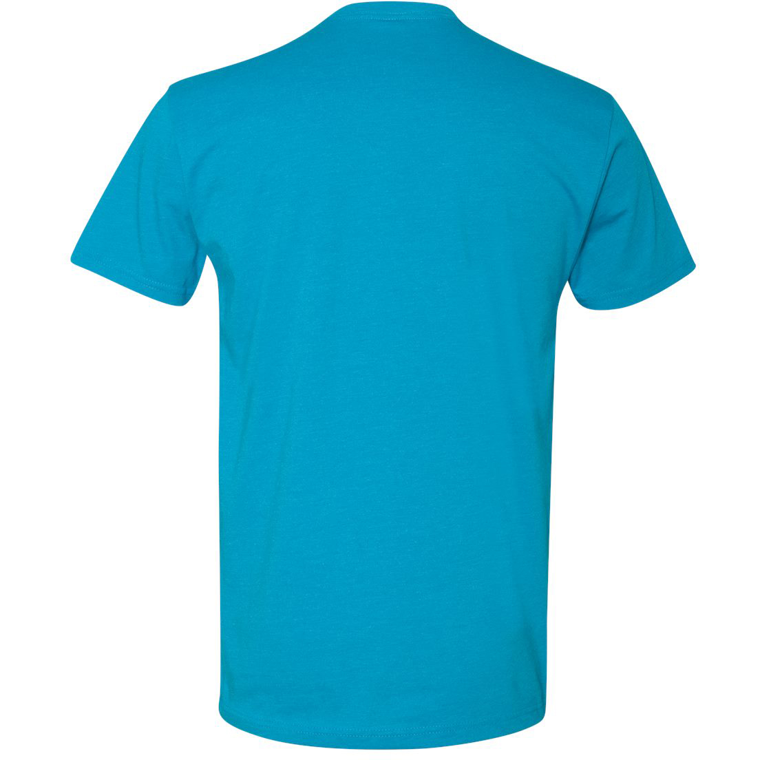 Next level 6210 premium fitted cvc crew turquoise for Apple shirt screen printing