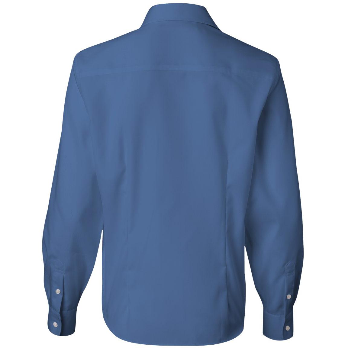 Van heusen 13v0144 women 39 s non iron pinpoint oxford shirt for French blue oxford shirt