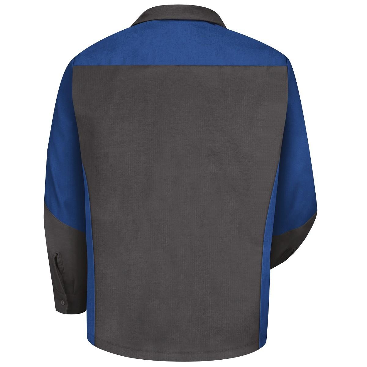 Red Kap Sy10 Crew Shirt Long Sleeve Royal Blue