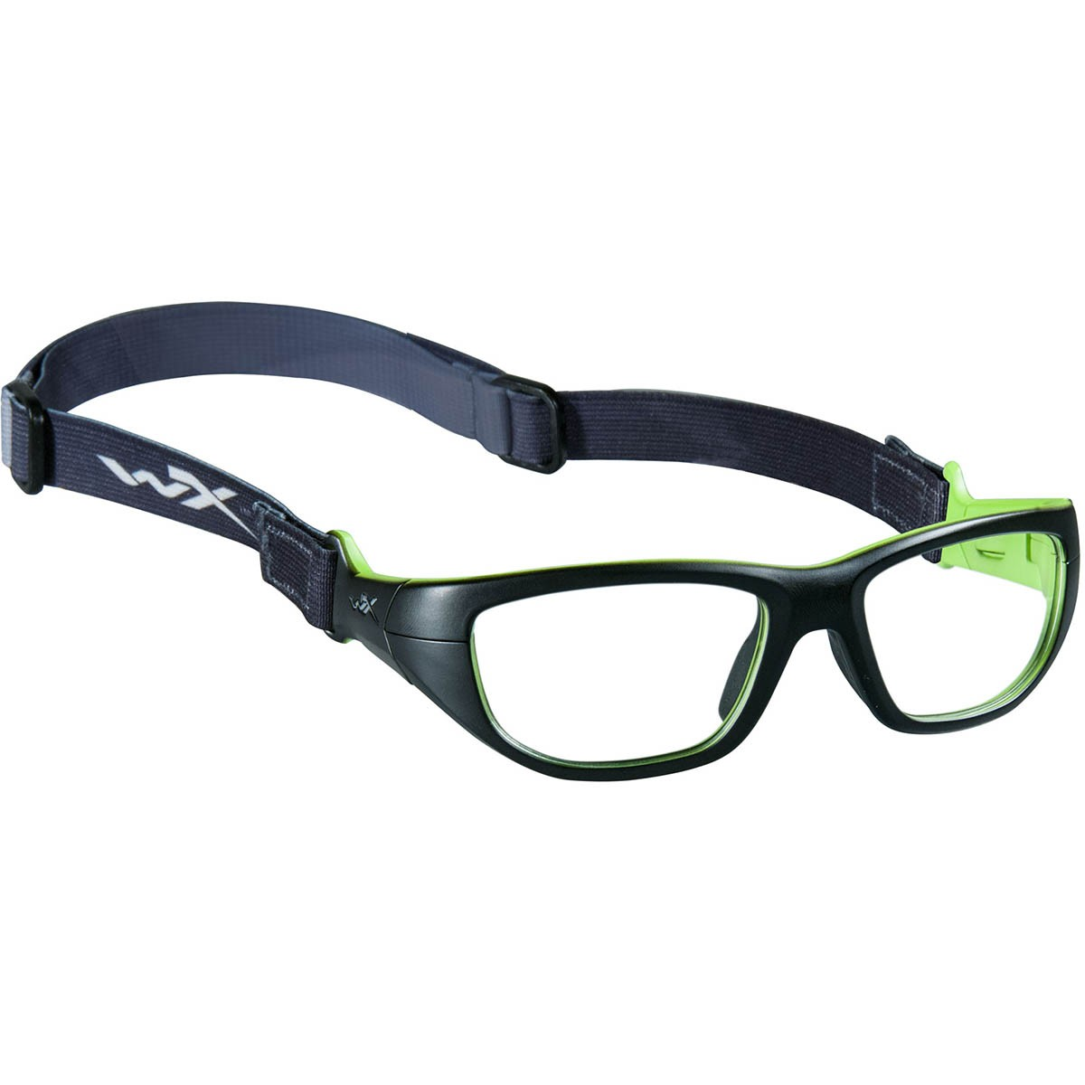 Lime Green Eyeglass Frames : WileyxYFVIC02 WX Victory Safety Glasses - Matte Black w ...