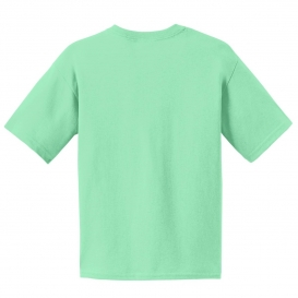Gildan 2000b youth ultra cotton 100 cotton t shirt mint for Mint color polo shirt