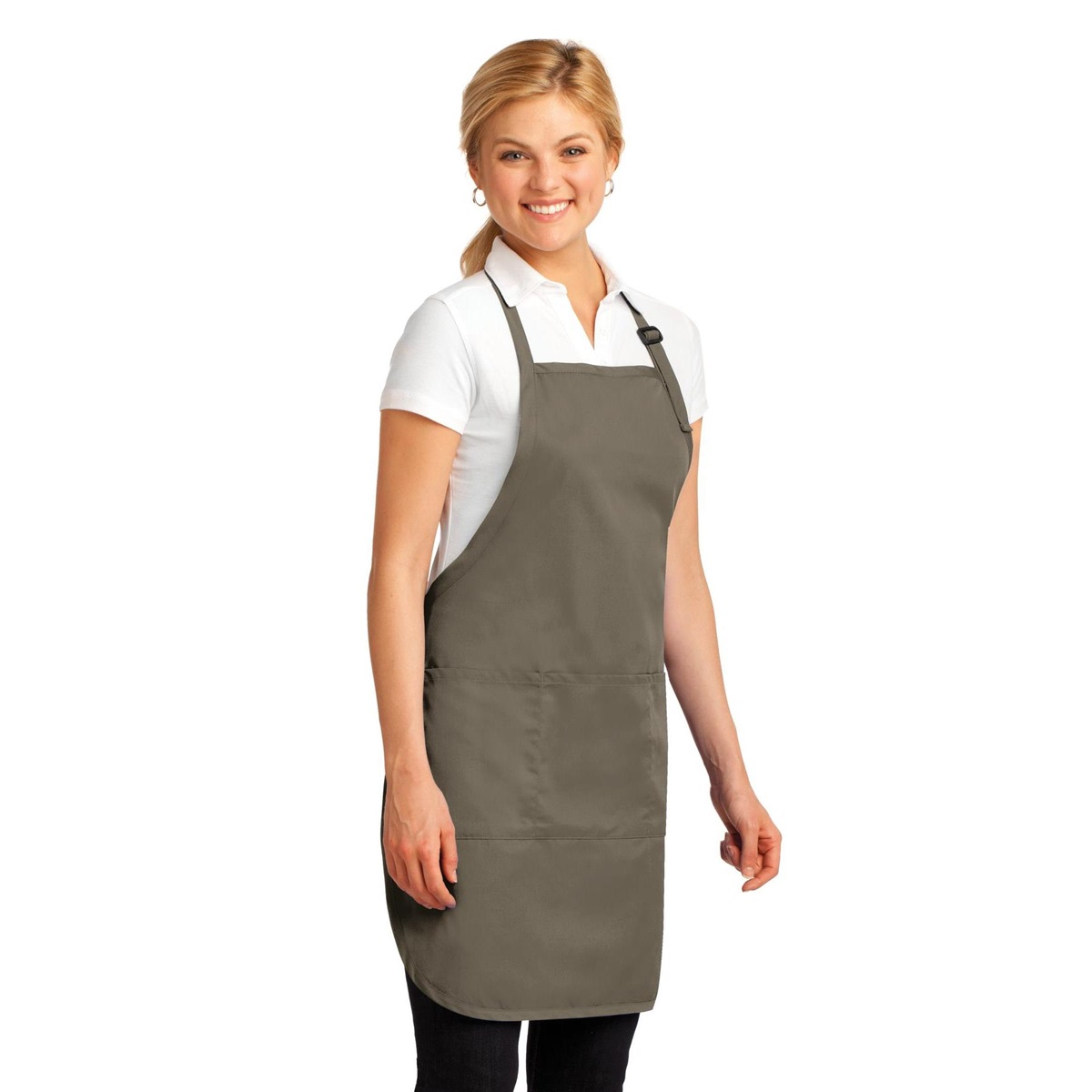 Port Authority A703 Easy Care Full-Length Apron with Stain ...