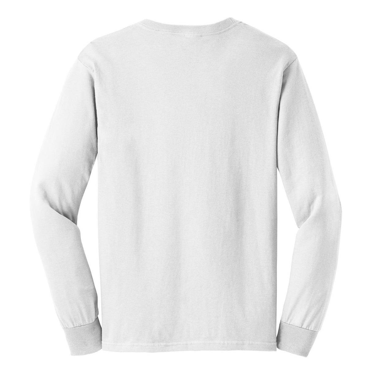Gildan g2400 ultra cotton long sleeve t shirt white for White cotton long sleeve t shirt