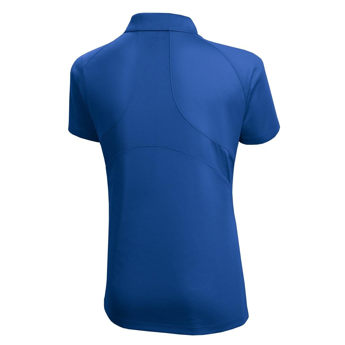 Sport Tek L474 Ladies Dri Mesh Pro Polo Shirt Royal