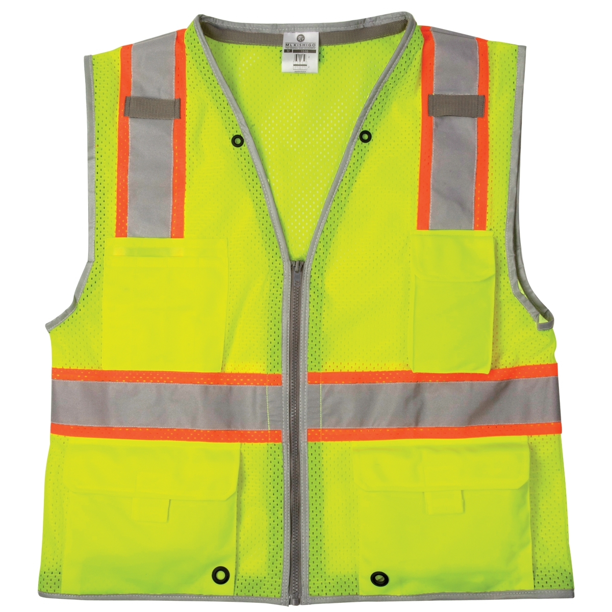 Ml Kishigo 1510 Brilliant Series Heavy Duty Safety Vest