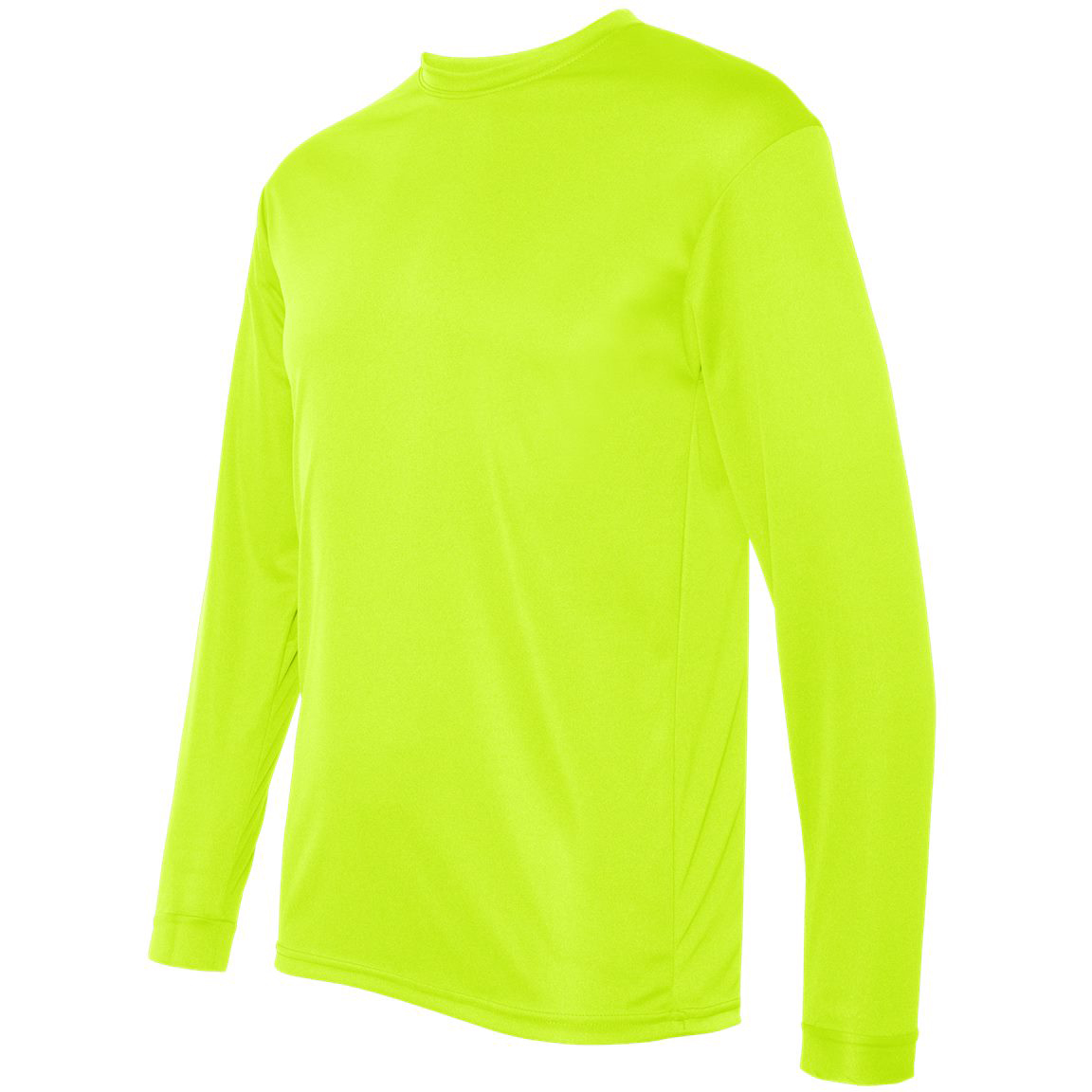 C2 sport 5104 performance long sleeve t shirt safety for Yellow long sleeved t shirt