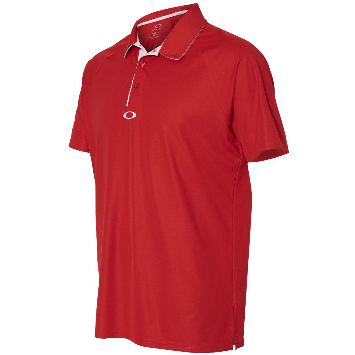 93596e4d50ae3 Oakley Fade Polo Red