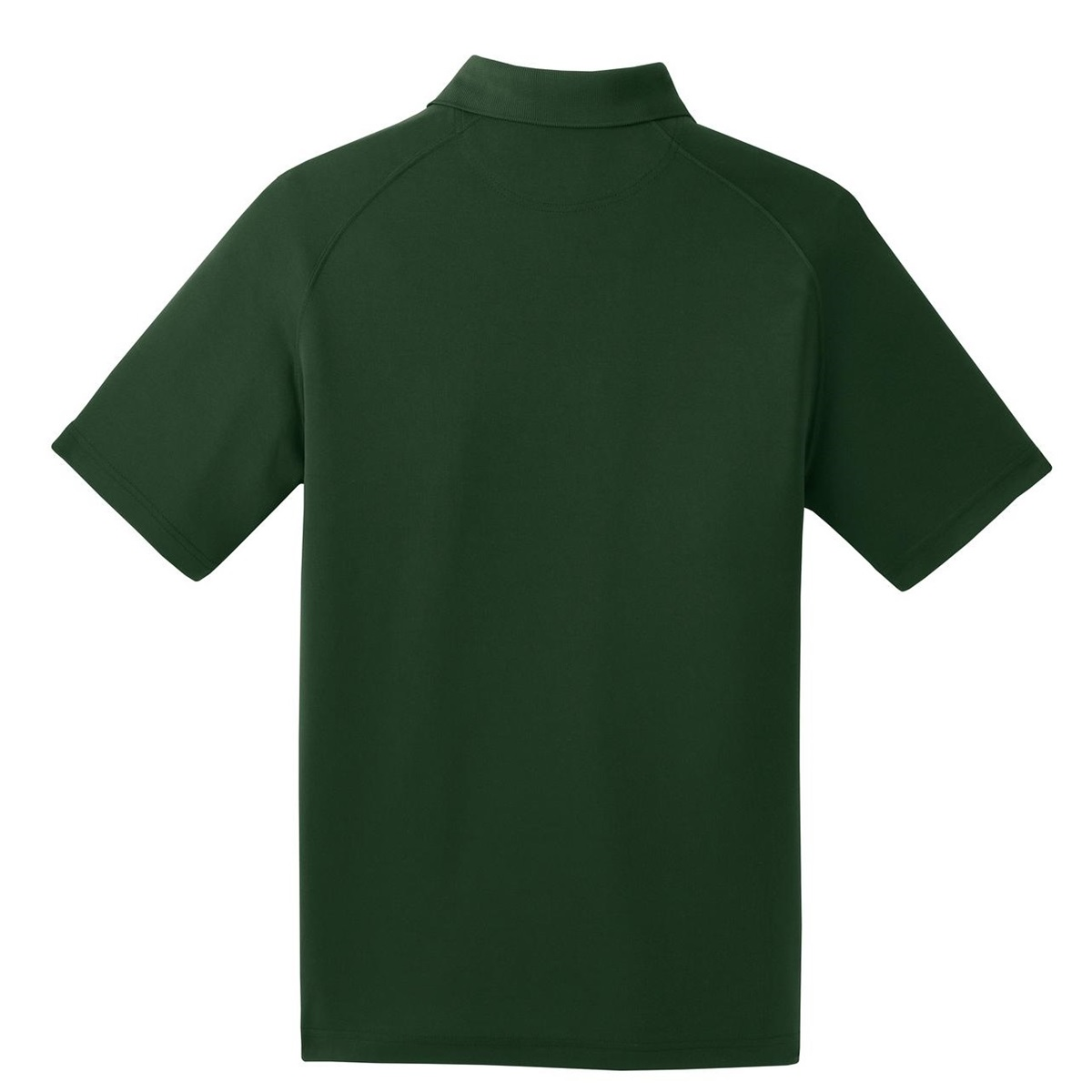 Sport tek t475 dry zone raglan polo forest green for Forest green polo shirts